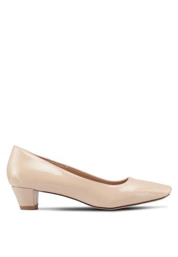 ed52270fc15 Shop Nose Square Toe Low Heel Pumps Online on ZALORA Philippines