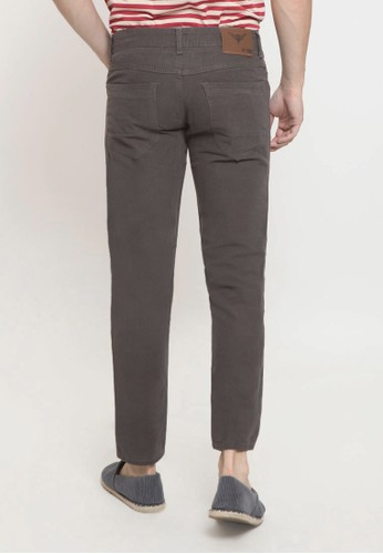 Jual 2nd Red 2nd Red Long Pants Trouser Twill Octopus