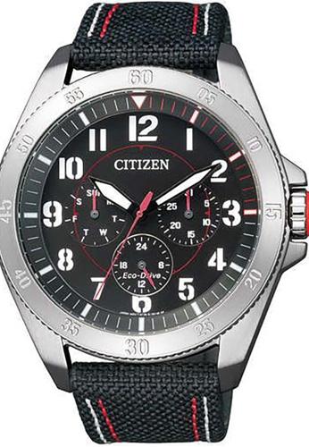 Citizen black Citizen Men's Black Leather Watch - BU2030-17E 62F79ACE4EEF50GS_1