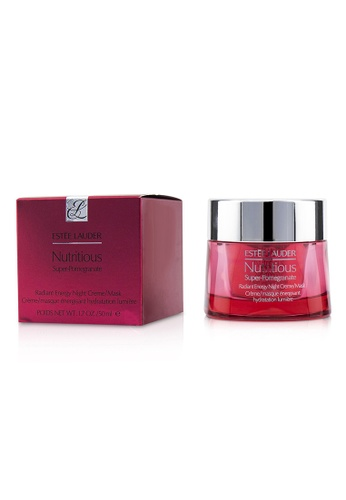 Estée Lauder ESTÉE LAUDER - Nutritious Super-Pomegranate Radiant Energy Night Creme/ Mask 50ml/1.7oz DFD7BBE47E9C60GS_1