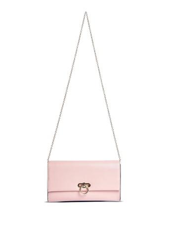 Dorothy Perkins pink Blush Ring Lock Clutch 4E57DAC73D83A5GS_1