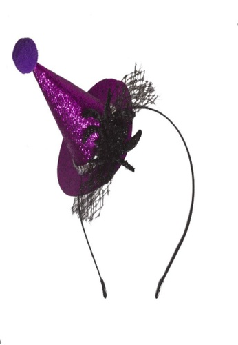 Adkidz black Adkidz Halloween Witch Hat Headband 21DFDKC4AD1DB0GS_1