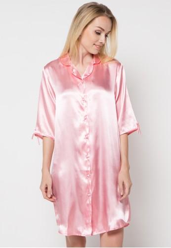 Impression pink Nightdress Calista IM886AA71OCYID_1