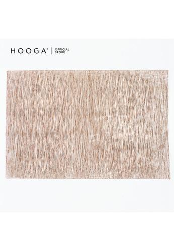 HOOGA brown Hooga Placemat. 39AC0HL2B82721GS_1
