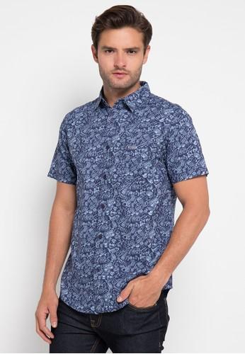 MOUTLEY blue Mens Shirt-210 MO264AA0UQIPID_1