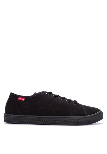 Levi's black Malibu Canvas Sneakers 8D43CSH564D4B6GS_1