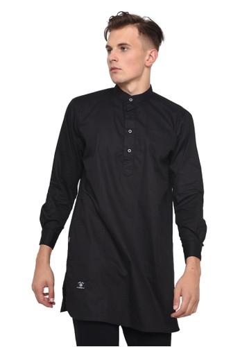 Java Seven Muslimwear black CBR SIX KURTA PRIA [MNC 976] - Hitam 7ECF0AA87445E5GS_1