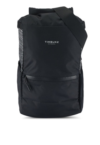TimBuk2 black Lightweight Pannier Backpack 664C3ACB51E812GS_1
