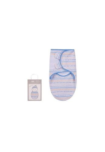 Little Kooma white Baby Wrap Swaddle Magic Tape 0-3 months BC42012 CE3B7KC112ABC1GS_1