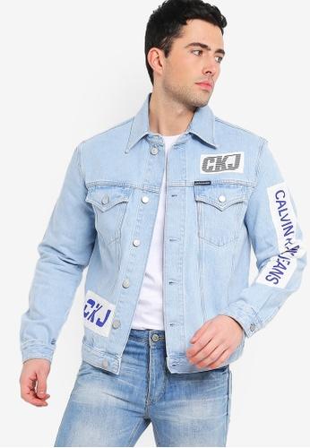 d97e30dac Foundation Trucker Jacket - Calvin Klein Jeans