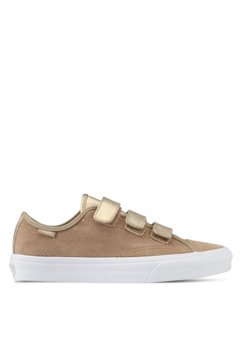 VANS brown Style 23 V 2 Tone Metallic Sneakers VA142SH0SHOJMY_1