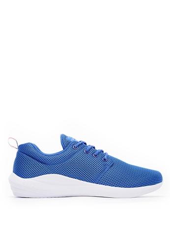 Life8 藍色 Sport 輕量 簡約風格 飛艇運動鞋(附雙鞋帶)-09818-藍色 1D757SH075E795GS_1