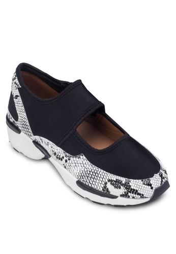 拼接zalora鞋厚底休閒鞋, 女鞋, 鞋