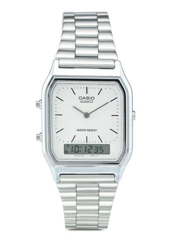 Casio silver Casio Watch AQ-230A-7DMQ 3ABFFAC8F08822GS_1