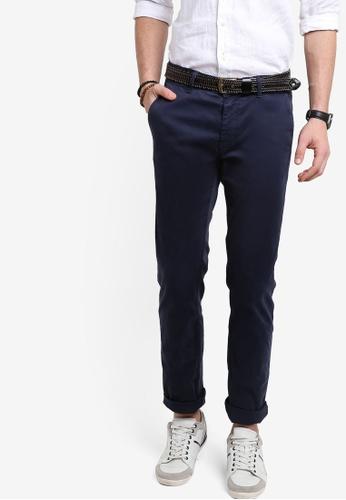 Boss Orange navy Schino Slim Pants BO434AA94MGRMY_1