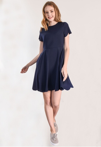 L'zzie navy LZZIE MILLER DRESS- NAVY D89E7AA241A72AGS_1