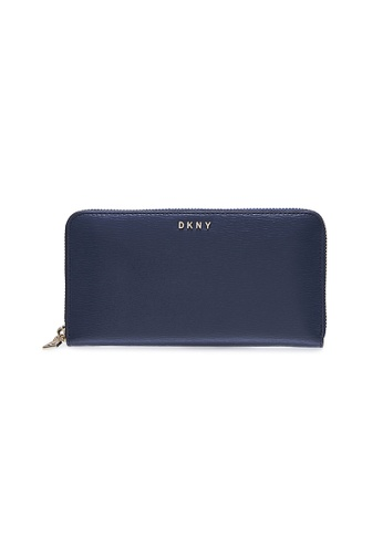 Dkny navy DKNY Women Bryant Zip Around Wallet - Spring & Summer 2021 27E62AC4AD35A9GS_1