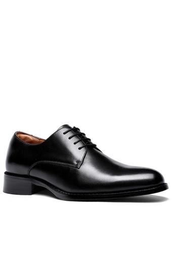 Twenty Eight Shoes 黑色 基本商務真皮皮鞋 DS216 6060ESH009D00FGS_1