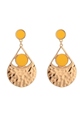 A-Excellence gold Gold Plated Drop Earring 72F2FAC0ABCE7FGS_1