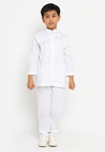 Arafah white Baju Koko Anak 16 BBB88KA72A8703GS_1