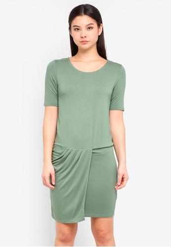 ICHI green Siko Dress CAD4BAAB94C91FGS_1