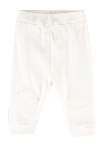 FOX Kids & Baby white New Born Plain Leggings E2AB6KAF55EF97GS_1