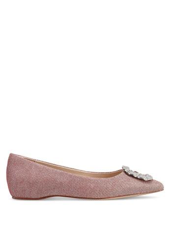 ALDO 粉紅色 尖頭平底鞋 F03E2SH8D2A383GS_1
