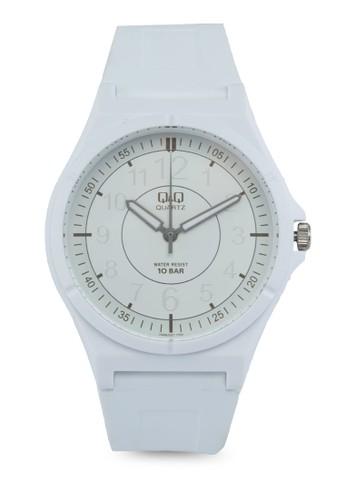 Q&Q VQ66J007Y 圓框休閒裱, esprit 價位錶類, 男裝手錶