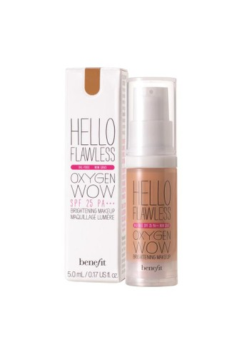 Benefit beige Benefit Hello Flawless! Oxygen Wow Liquid Foundation - Amber, I'm So Glamber EC404BE2F80078GS_1
