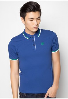 Solid Polo Tee