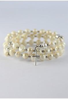Freshwater Pearl Rosary Bracelet