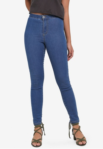 Factorie blue The Crop Jeggings 99CBDAACF5A4FDGS_1
