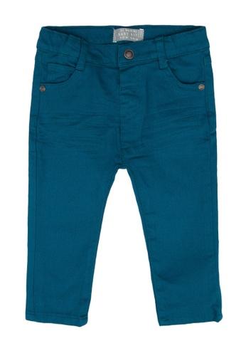 LC Waikiki green Gabardine Slim Trousers D464BKAB83FBE8GS_1