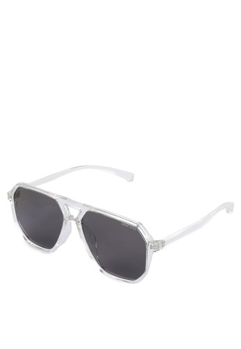 Urban State black Polarized Plastic Visionizer Aviator Sunglasses CA8BBGLBDF6127GS_1
