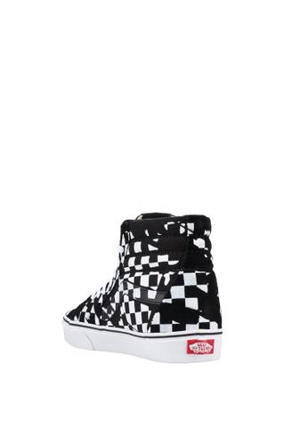 0de5dc9f6cae Buy VANS SK8-Hi Overprint Check Sneakers Online on ZALORA Singapore