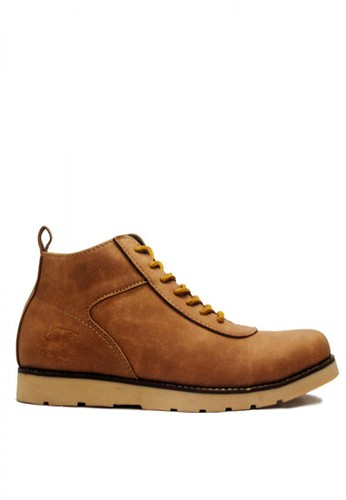 D-Island brown D-Island Shoes Venture Boots Comfort Leather Soft Brown DI594SH63NNGID_1