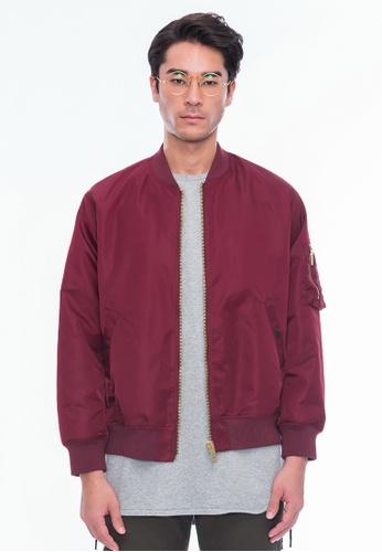 Alpha Style red Riley Lace-up Jacket AL461AA0GF9JSG_1
