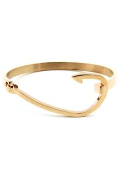 Venice Rose Gold Hook Bracelet Bangle