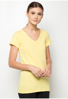 Ladies' V-Neck with Small Pocket