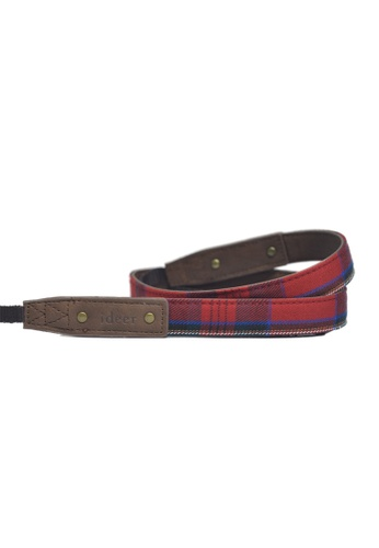 ideer red and blue Scottie Stewart Rouge Mini Camera Strap ID960AC85FOKHK_1