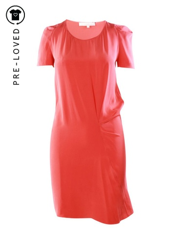Vanessa Bruno red Pre-Loved vanessa bruno Shift Dress CE646AA67F2BDBGS_1