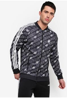 7b956367533a adidas black adidas originals monogram track jacket F729EAAEBF2303GS 1