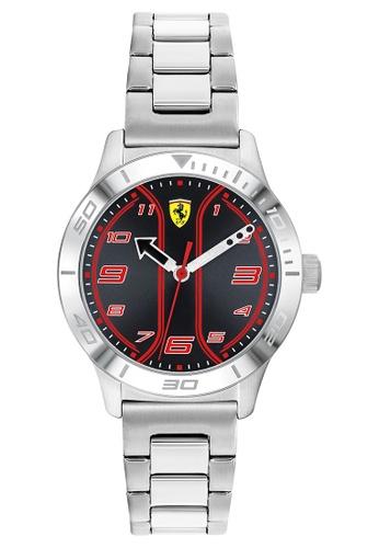 Scuderia Ferrari silver Scuderia Ferrari Academy Silver Kid's Watch (810025) 740C5KC1515EB3GS_1