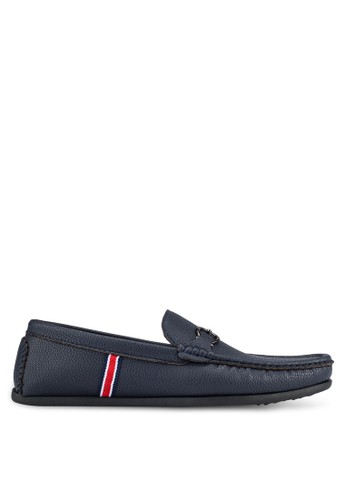 UniqTee blue Loafers With Buckle Detail UN097SH0S20ZMY_1