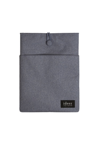 "ideer grey Ryman Misty Grey 12"" Laptop Sleeve ID960AC50SPDHK_1"