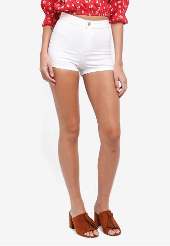 Miss Selfridge white White Steffi Shorts 49521AAD7BB610GS_1