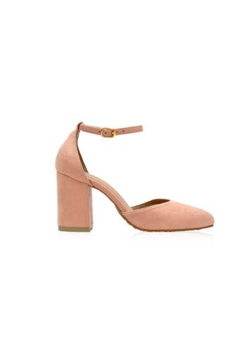 Kiss & Tell pink Bella Astillah x Kiss & Tell - Belle Heels in Pink 423E5SHB45B05AGS_1