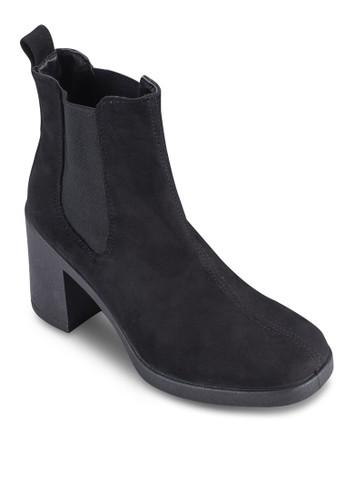 Barnaby 粗esprit 京站跟中筒靴, 女鞋, 鞋
