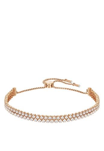 Swarovski gold Subtle Double Bracelet A7C83AC2335ACFGS_1