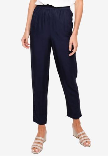 H&M blue Pull-On Trousers F5A77AA015E42FGS_1